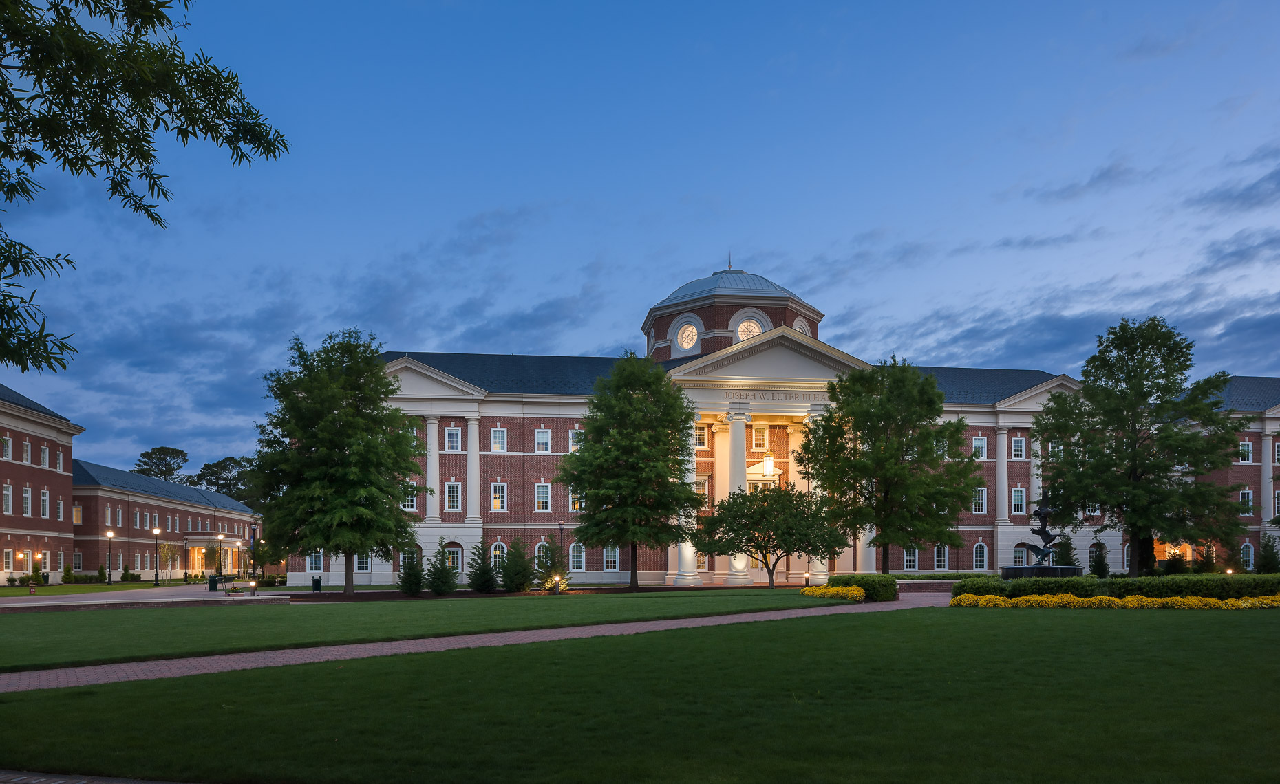 Virginia Hamrick Photography - Luter School of Business Christopher Newport University Newport News VA