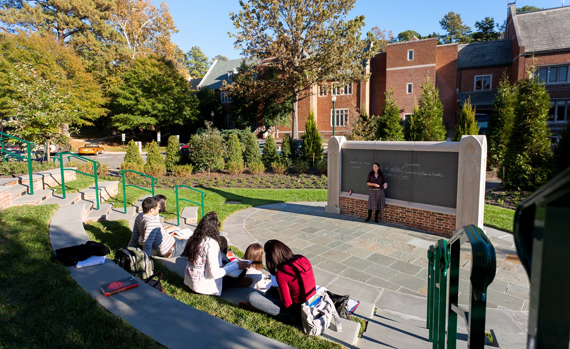Virginia Hamrick Photography - Outdoor Classroom University of Richmond