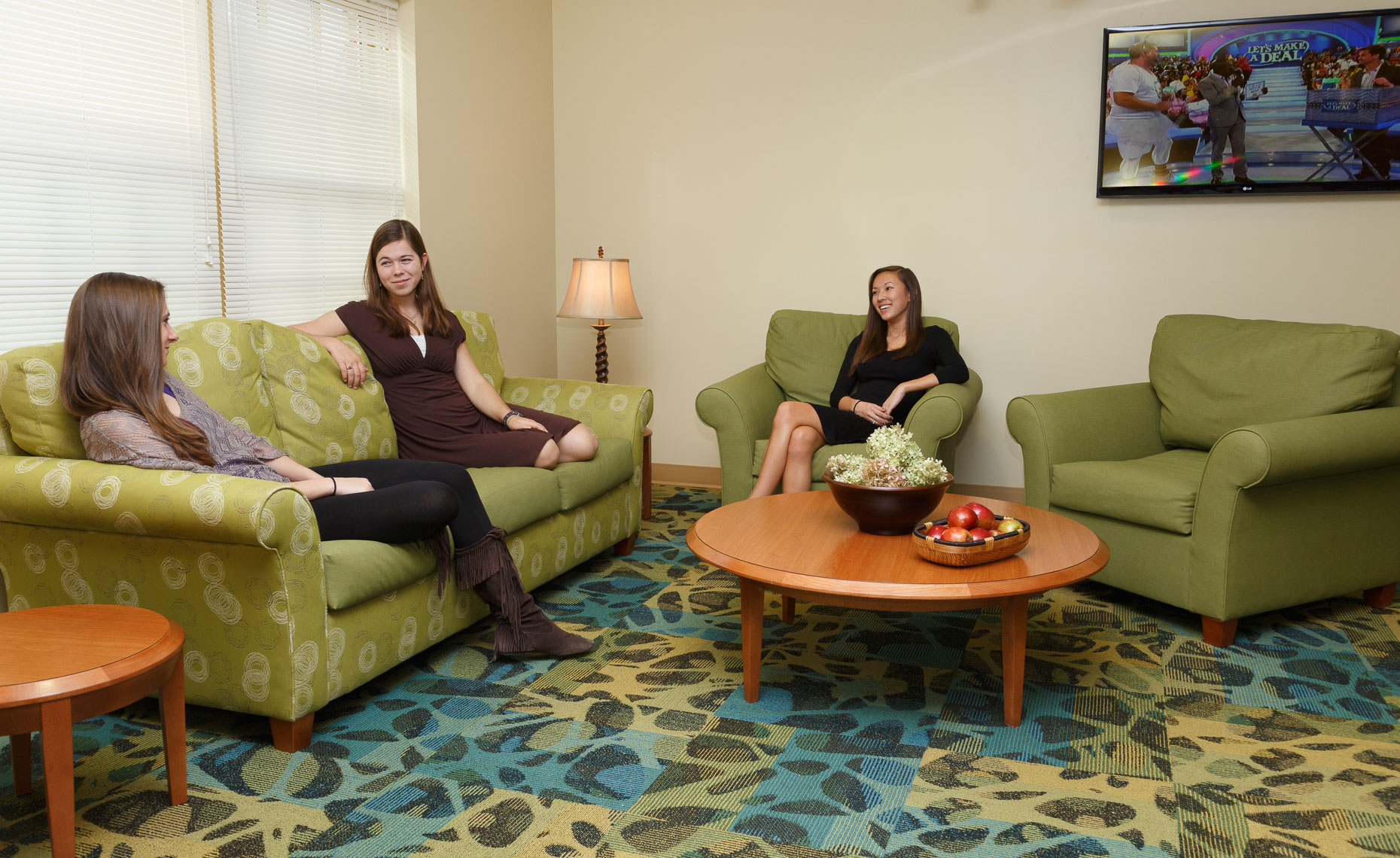 Virginia Hamrick Photography - University Student Housing Lounge Area -  Academia