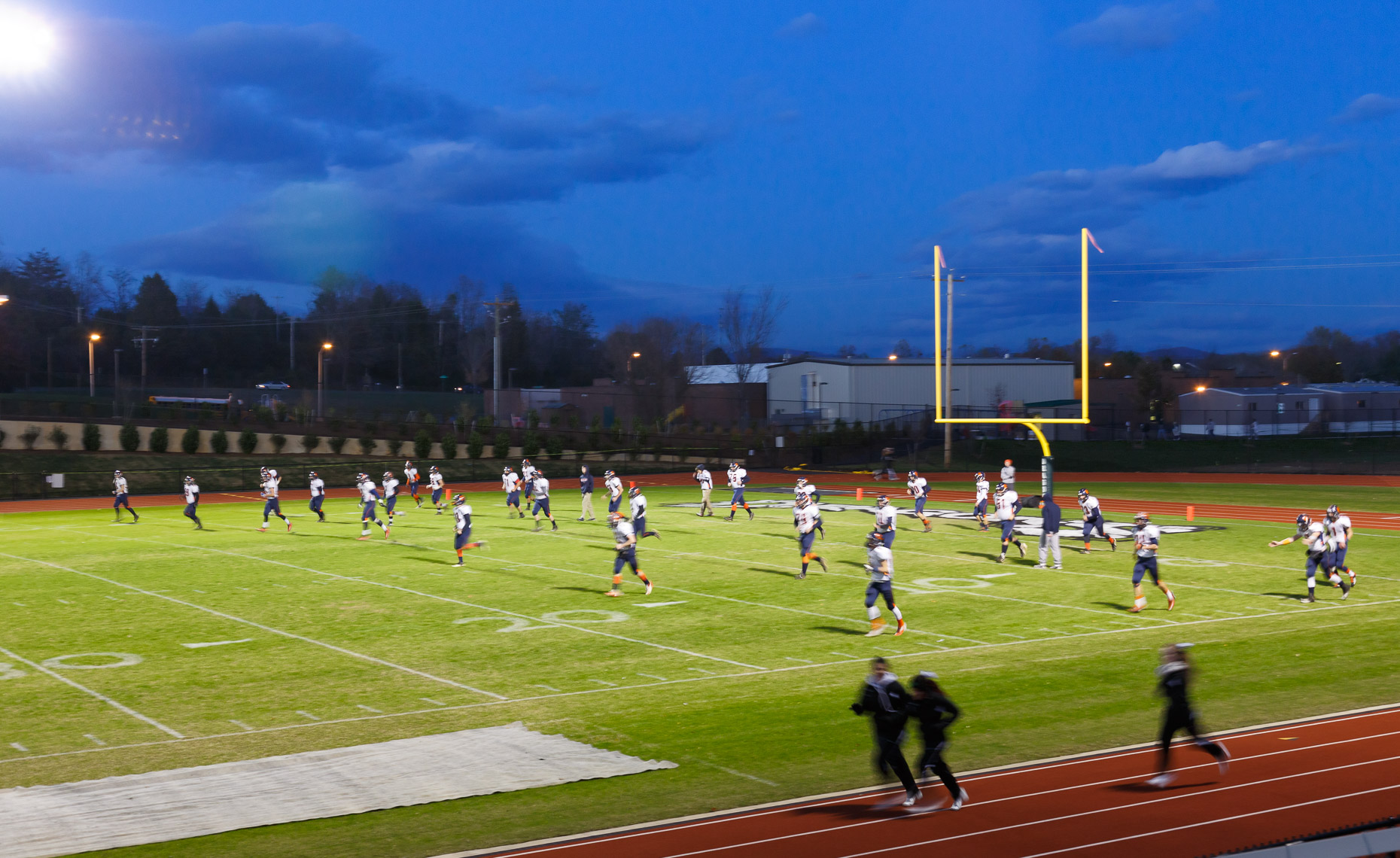 Virginia Hamrick Photography - Athletic Field - Academia