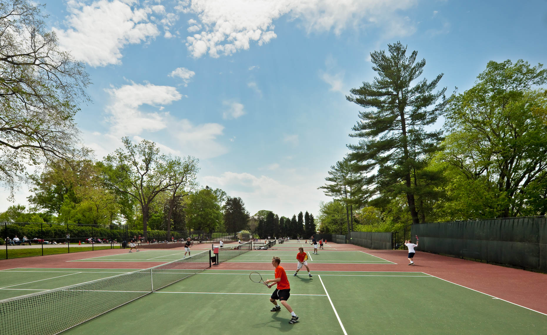 Virginia Hamrick Photography - Tennis Courts - Academia
