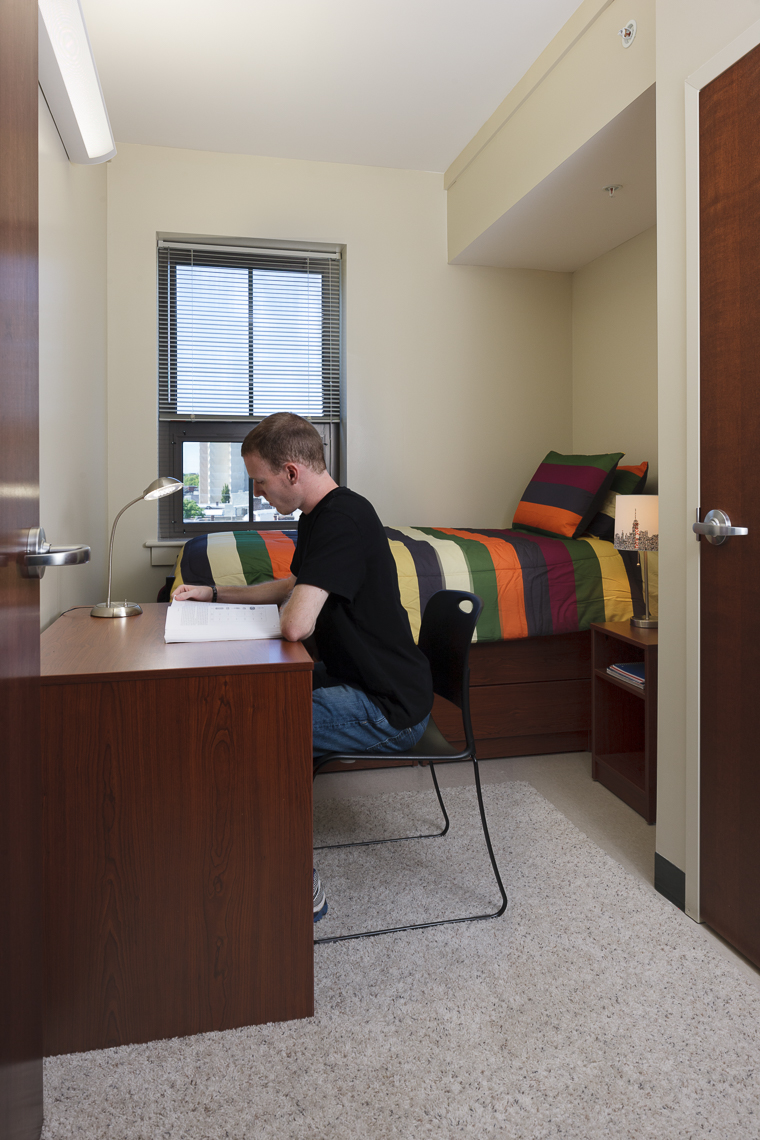 Virginia Hamrick Photography - Student Dorm Room - Academia