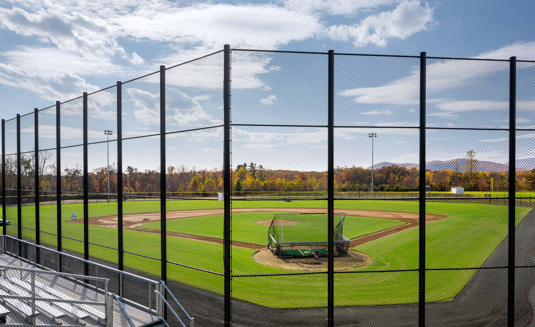 Virginia Hamrick Photography - Baseball Field - Athletics -Academia