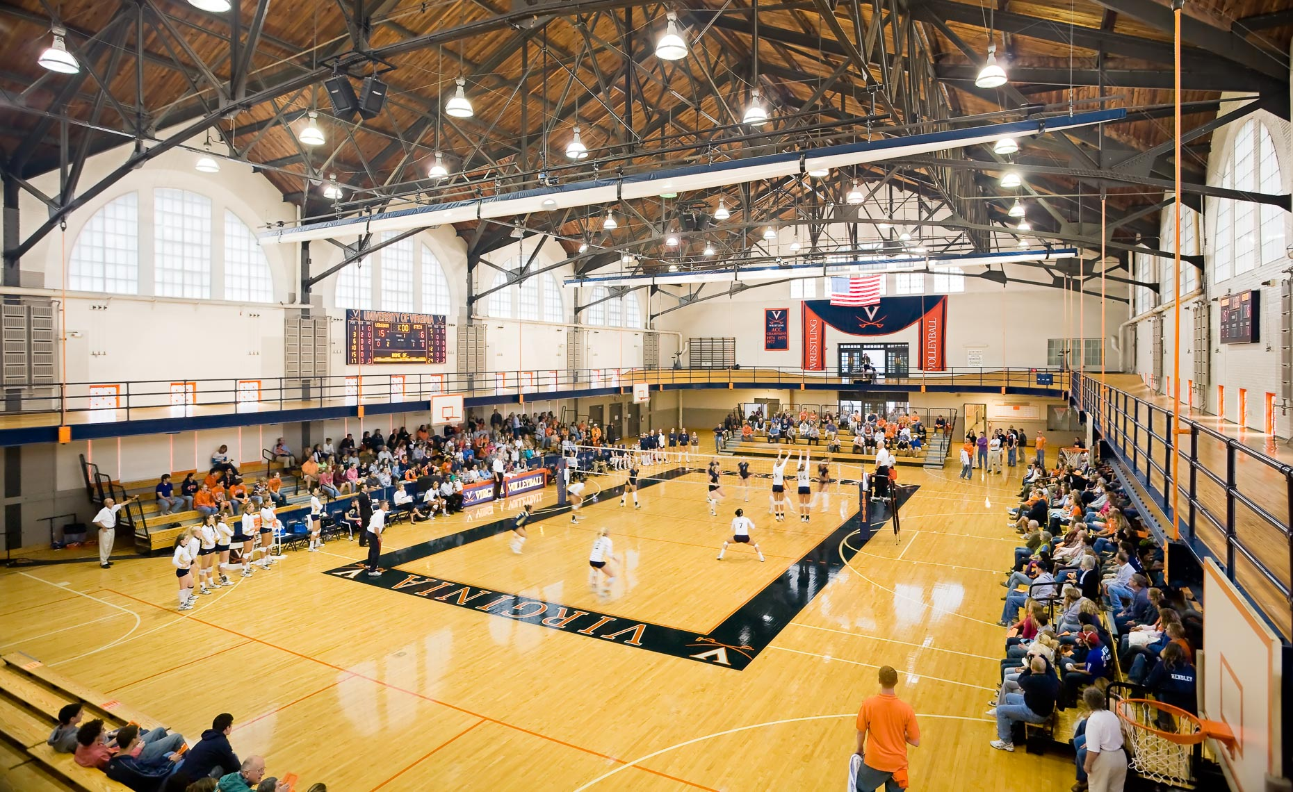 Virginia Hamrick Photography - Memorial Gym at University of Virginia