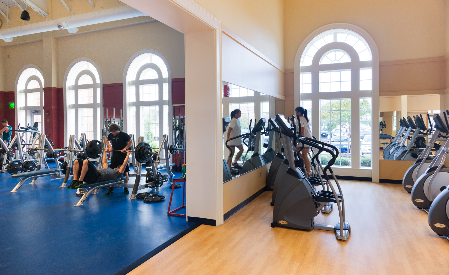 Virginia Hamrick Photography - Freeman Center Fitness Center - CNU - Academia
