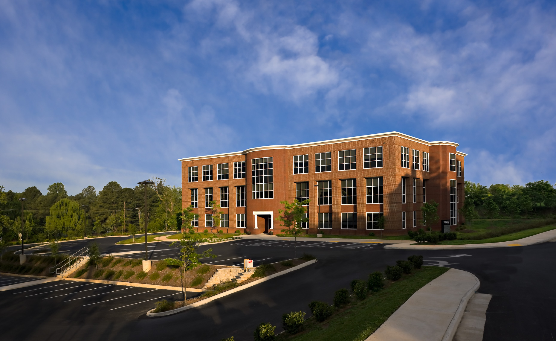Virginia Hamrick Photography - Jefferson Ridge Office Building Charlottesville VA - Commercial Exteriors