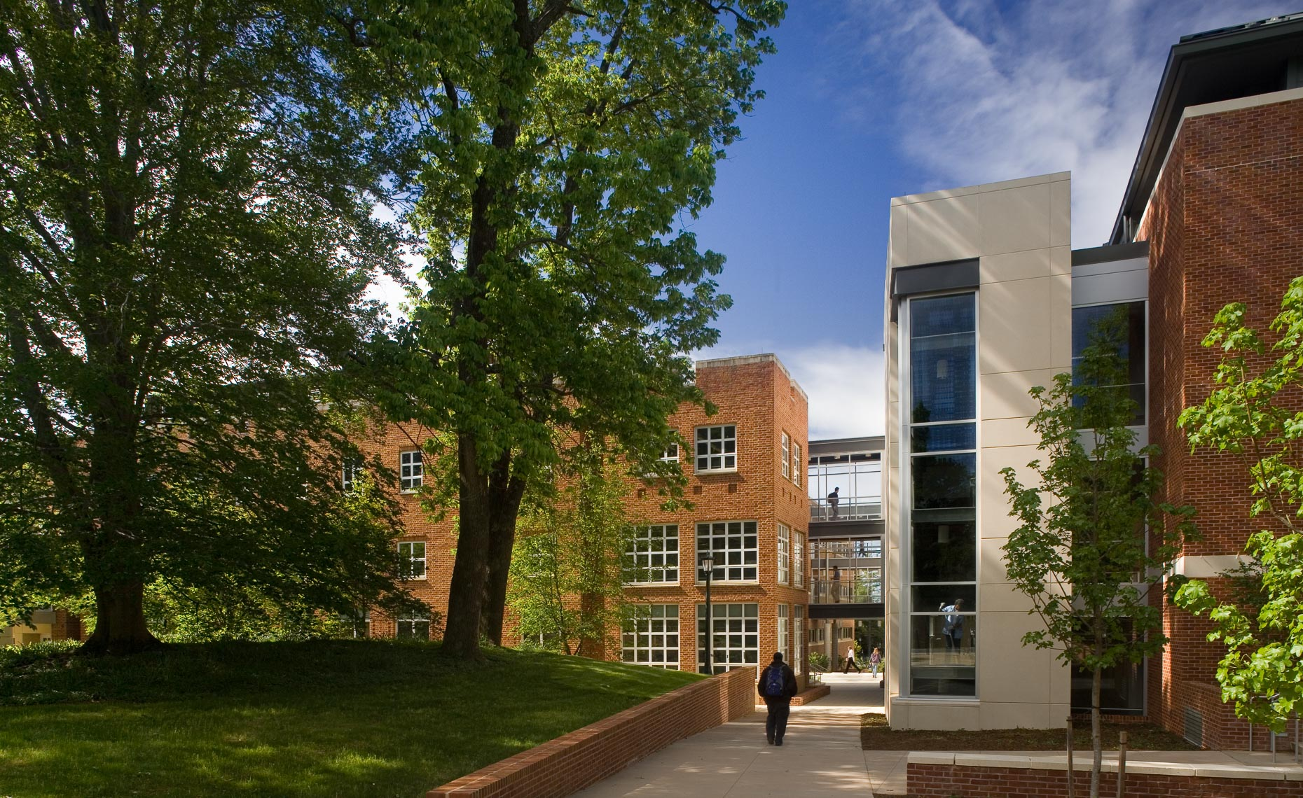 Virginia Hamrick Photography - University of Virginia's School of Engineering and Applied Science Wilsdorf Hall