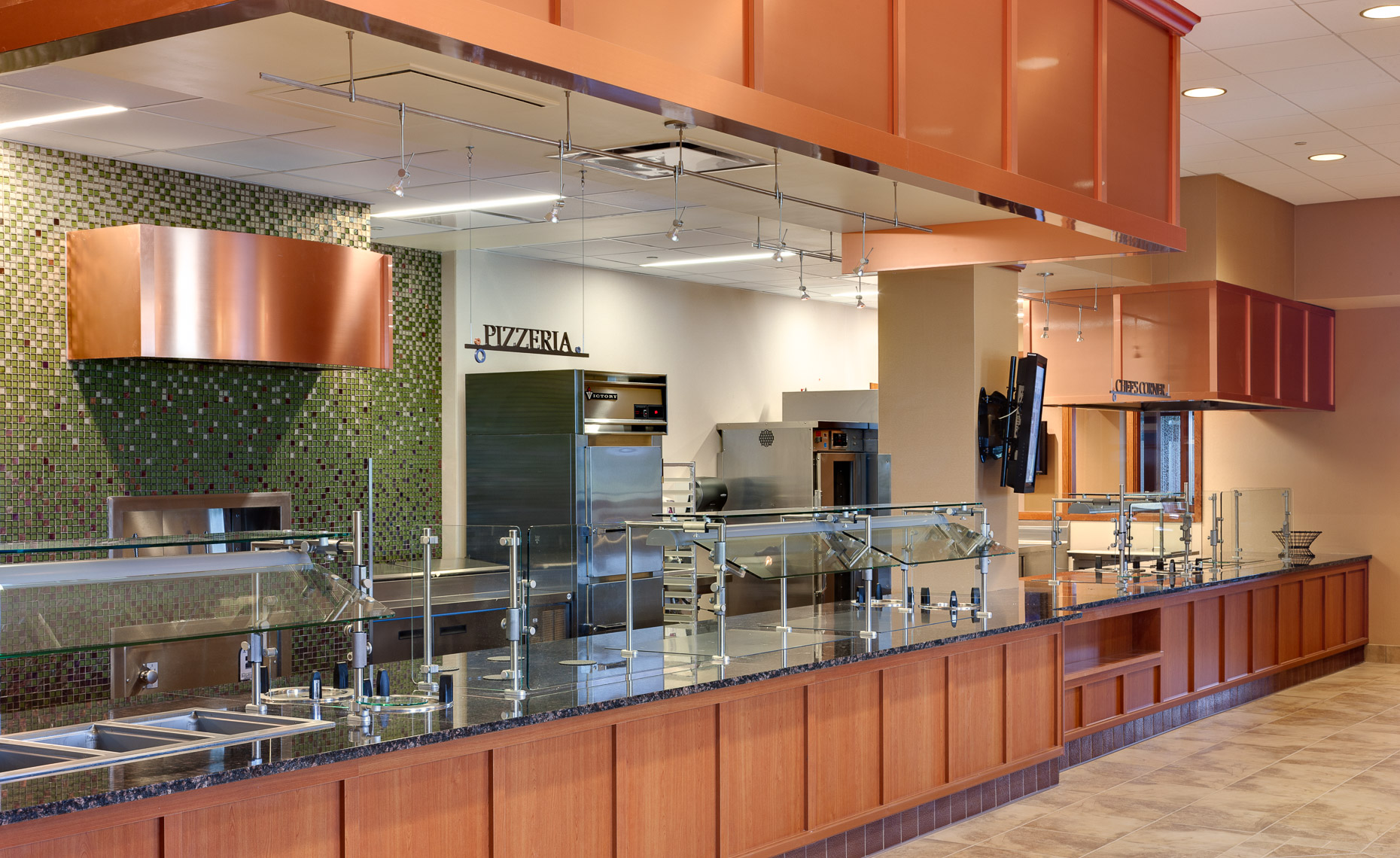 Virginia Hamrick Photography - Martha Jefferson Hospital Employee Cafeteria Charlottesville VA