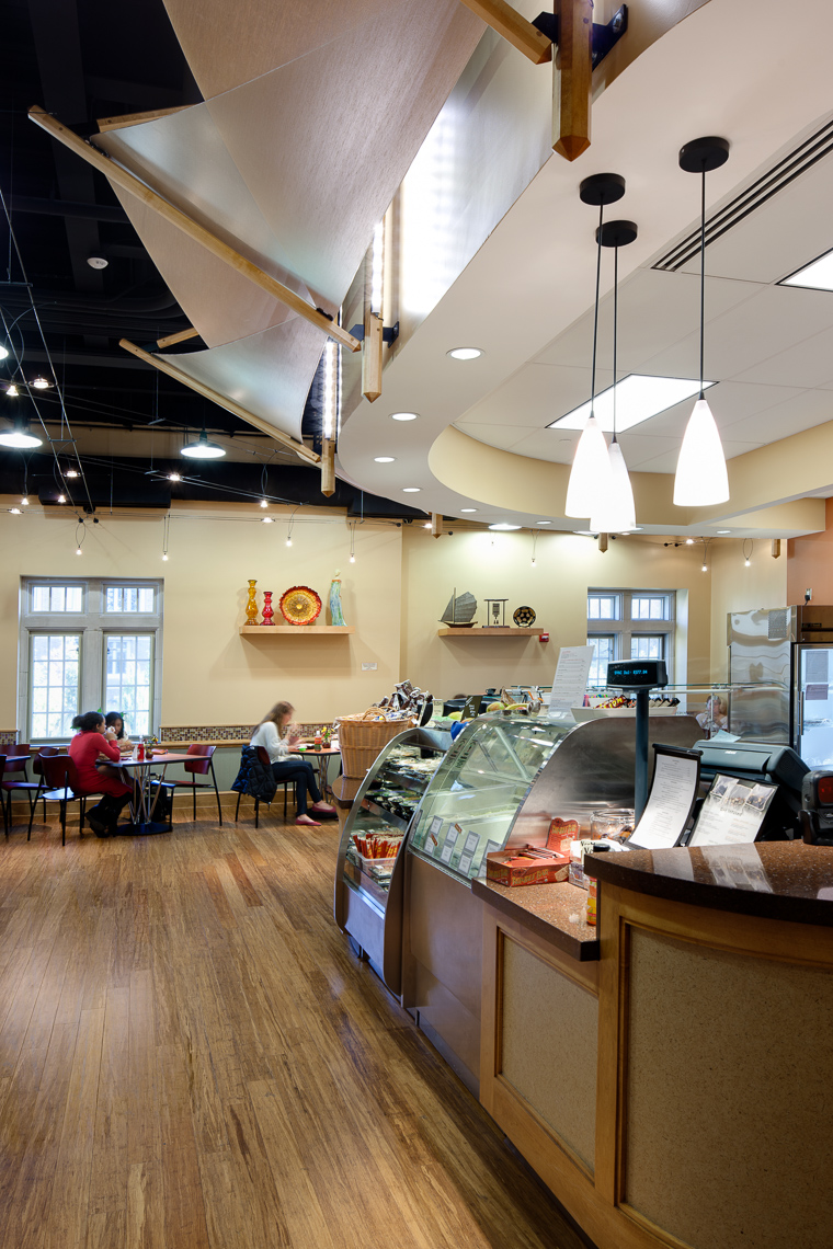 Virginia Hamrick Photography - University of Richmond International Center Snackbar