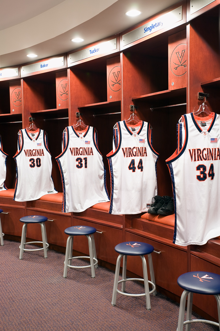 Virginia Hamrick Photography - Virginia Cavaliers John Paul Jones Arena Charlottesville VA