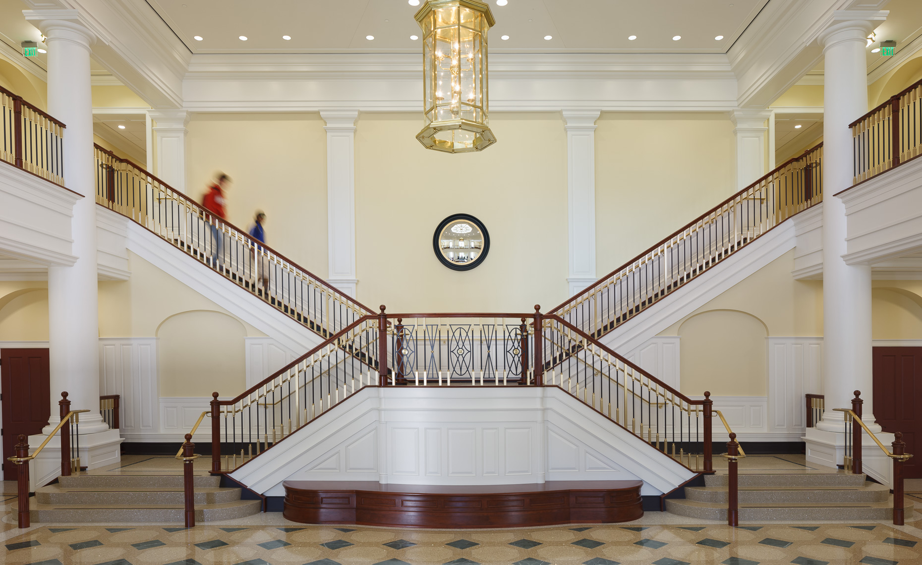 Virginia Hamrick Photography - Main Lobby Luter School of Business Christopher Newport University Newport News VA
