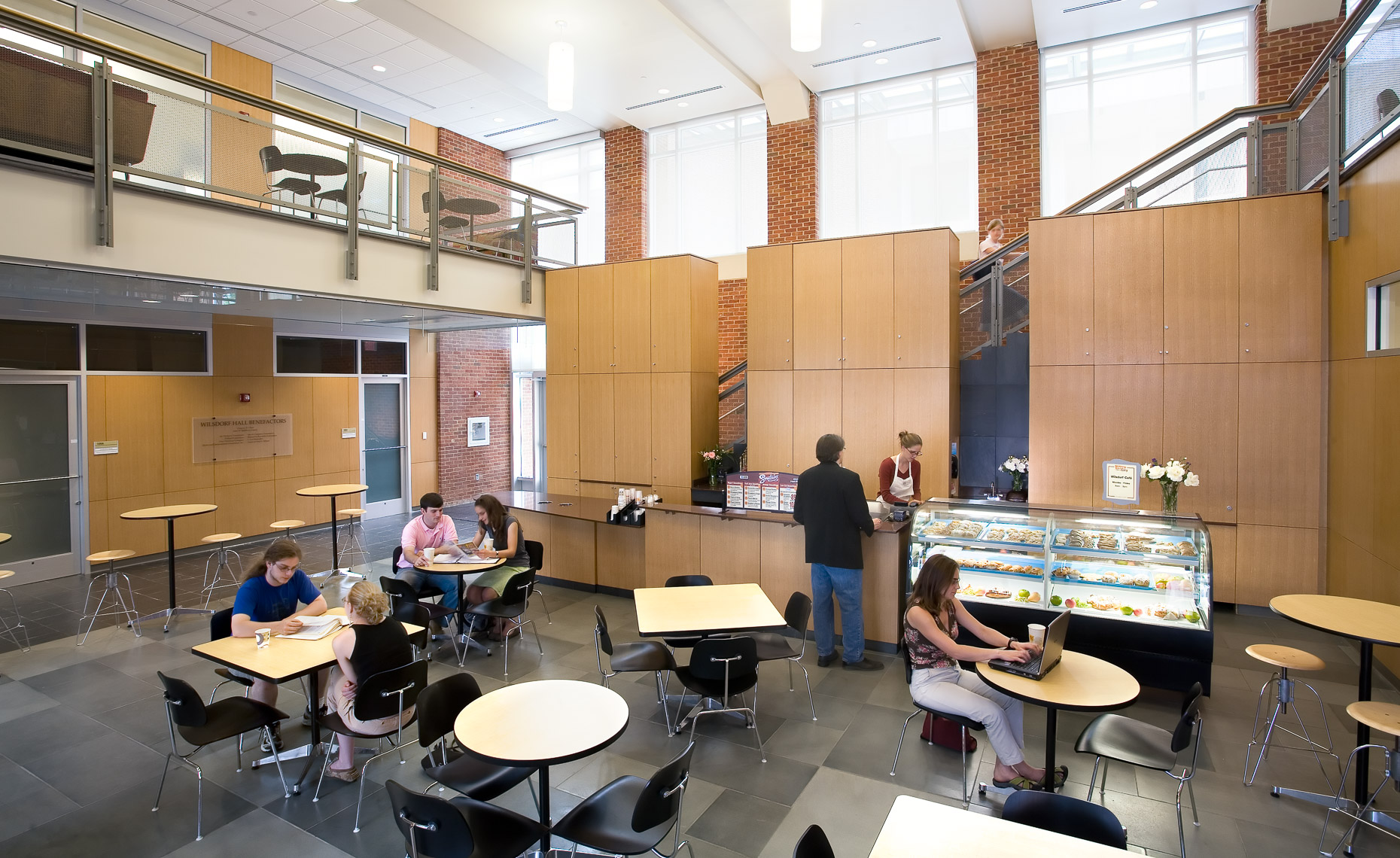 Virginia Hamrick Photography - Wilsdorf Hall Cafe University of Virginia Charlottesville VA