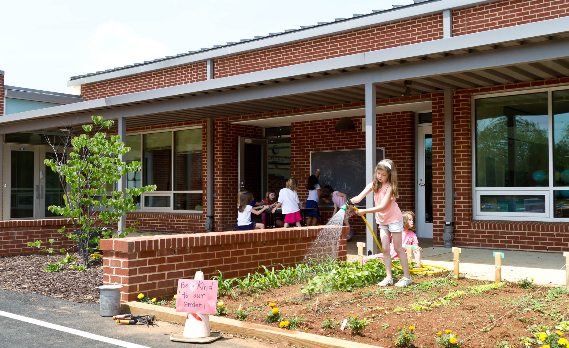 Virginia Hamrick Photography - Teaching Garden Brownsville Elementary School Albemarle County Virginia