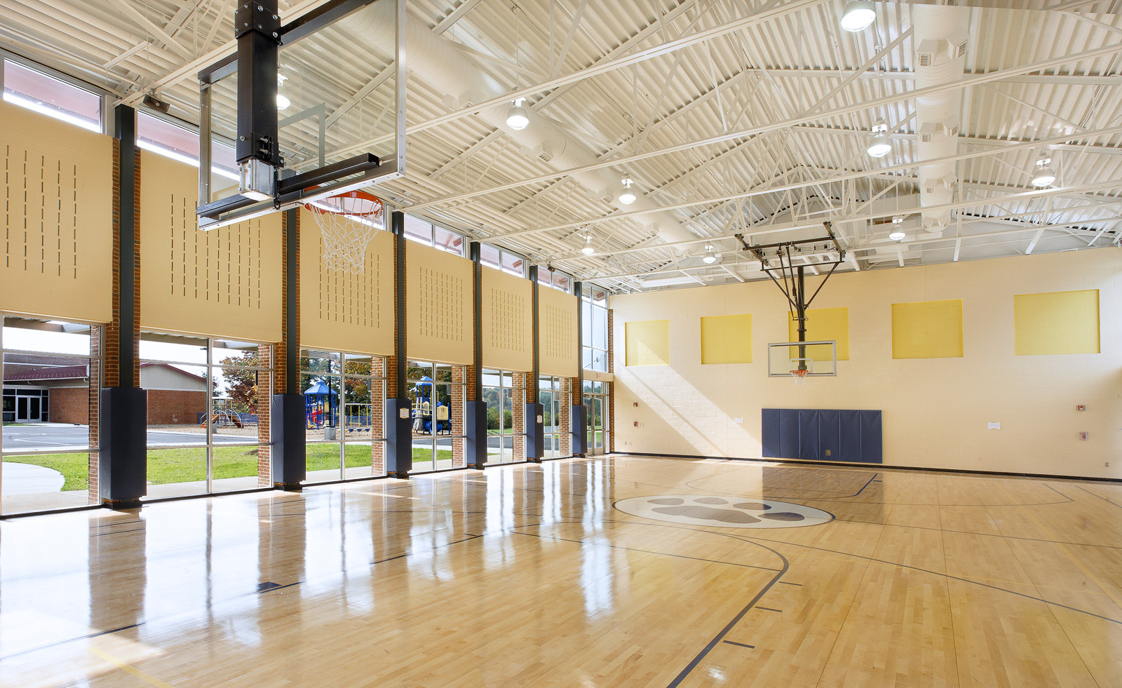 Virginia Hamrick Photography - Elementary School Gymnasium