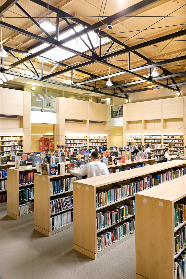 Virginia Hamrick Photography - High School Library
