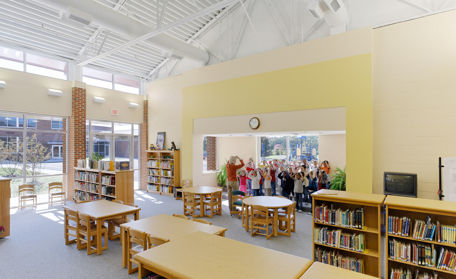 Virginia Hamrick Photography - Elementary School Library