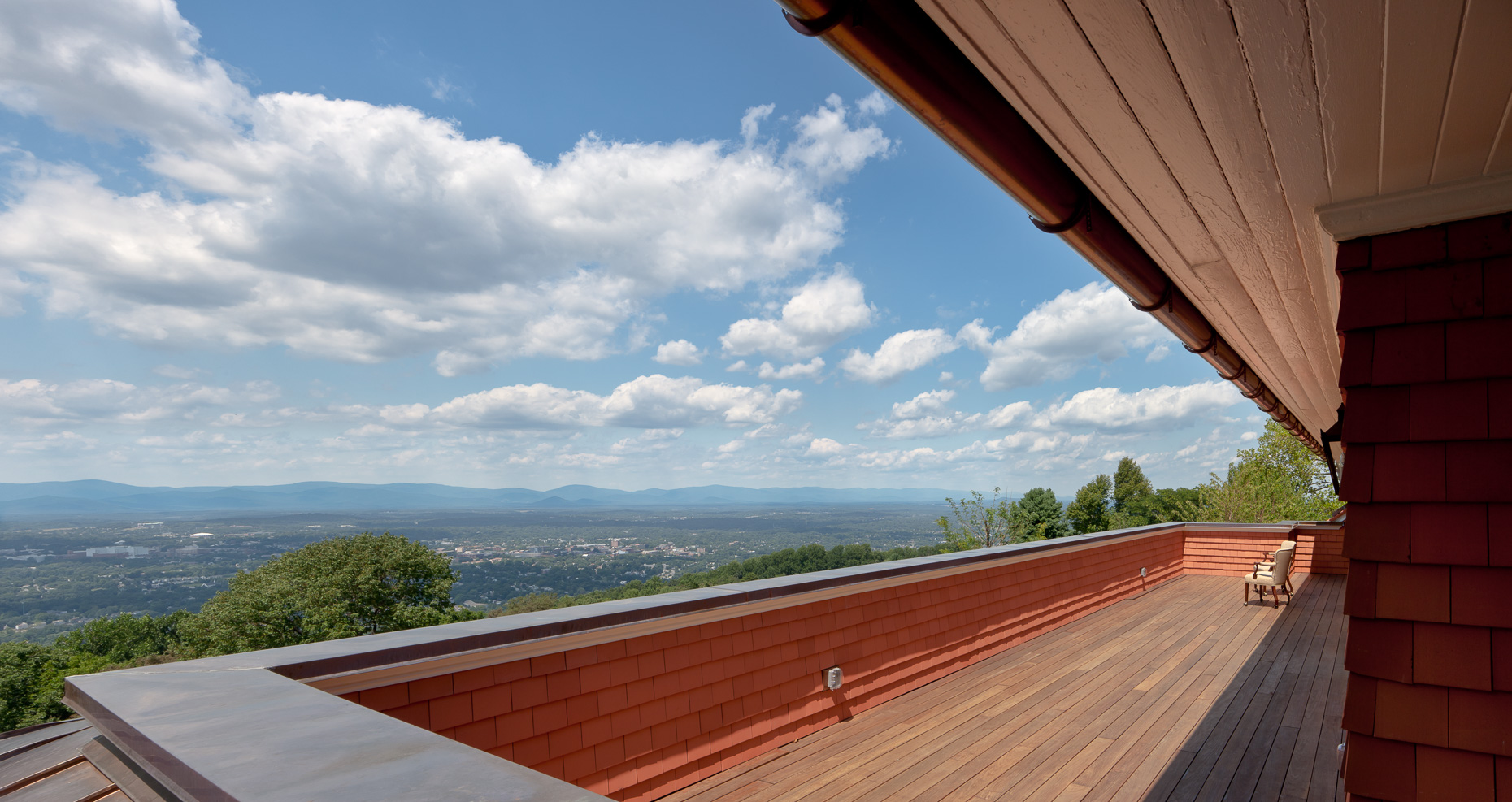 Virginia Hamrick Photography - View from deck at Montalto - Hospitality
