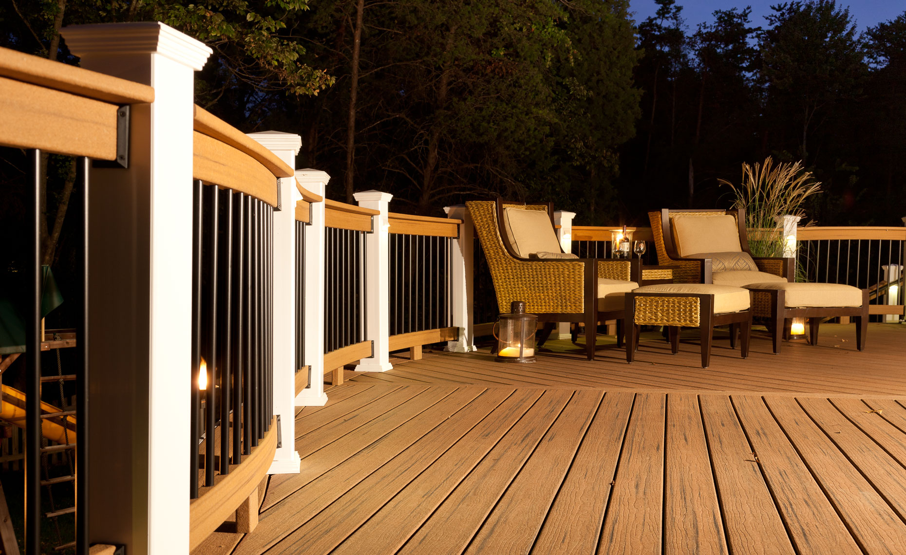 Virginia Hamrick Photography - Residential Deck Featuring  Moistureshield