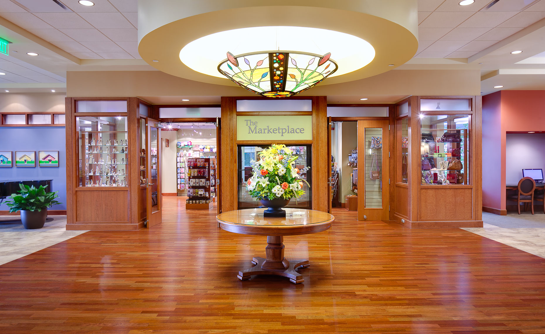 Virginia Hamrick Photography - Hospital Gift Shop and Lobby - Medical