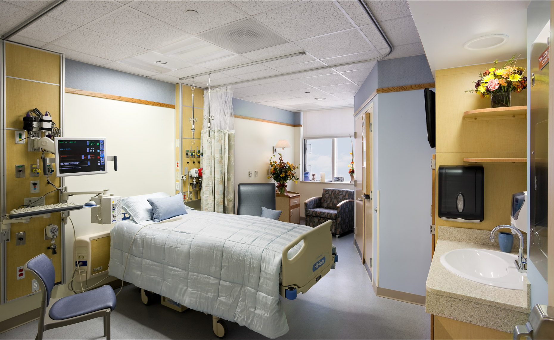 Virginia Hamrick Photography - Hospital Patient Room - Medical