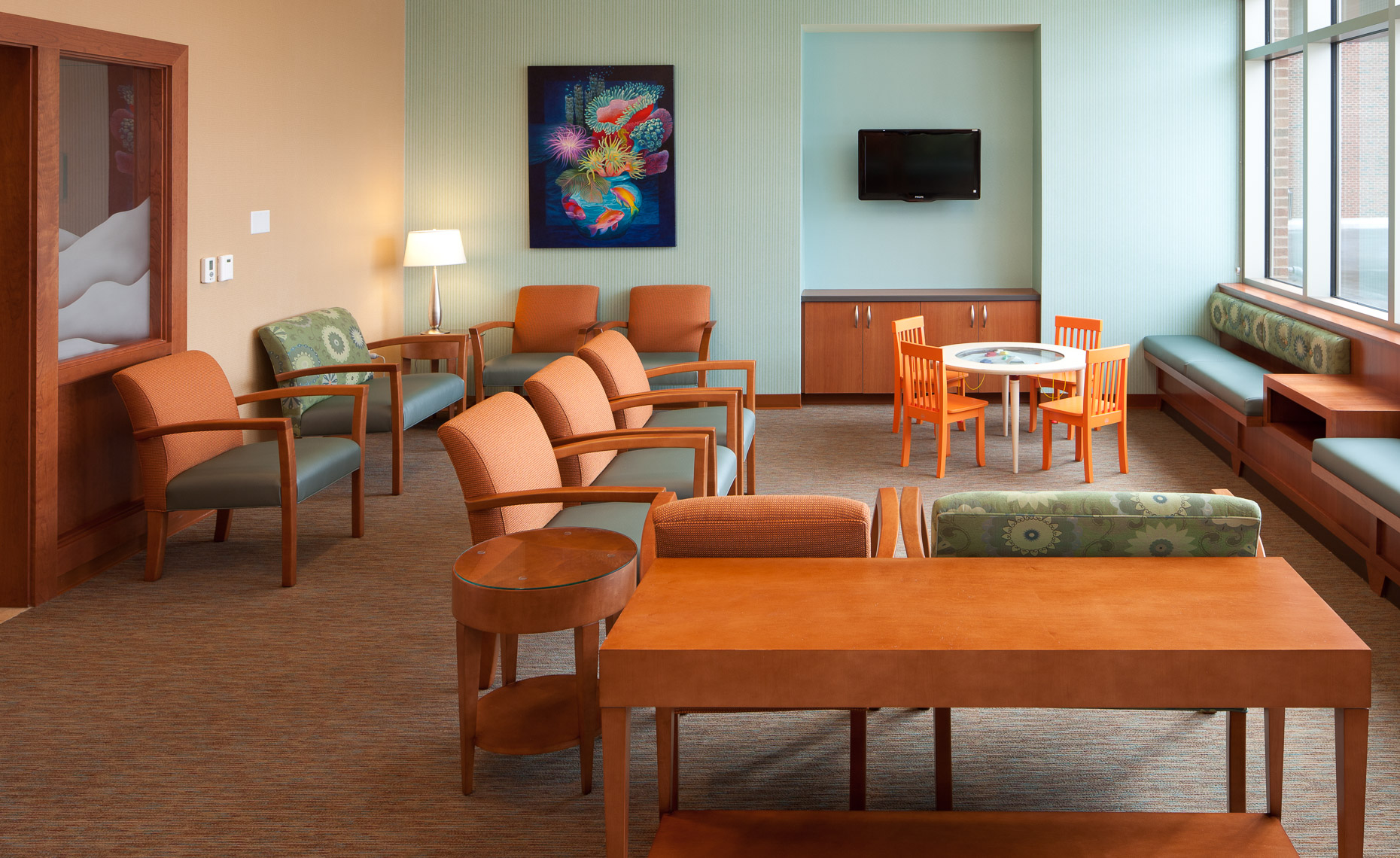 Virginia Hamrick Photography - Hospital Emergency Room Waiting Area