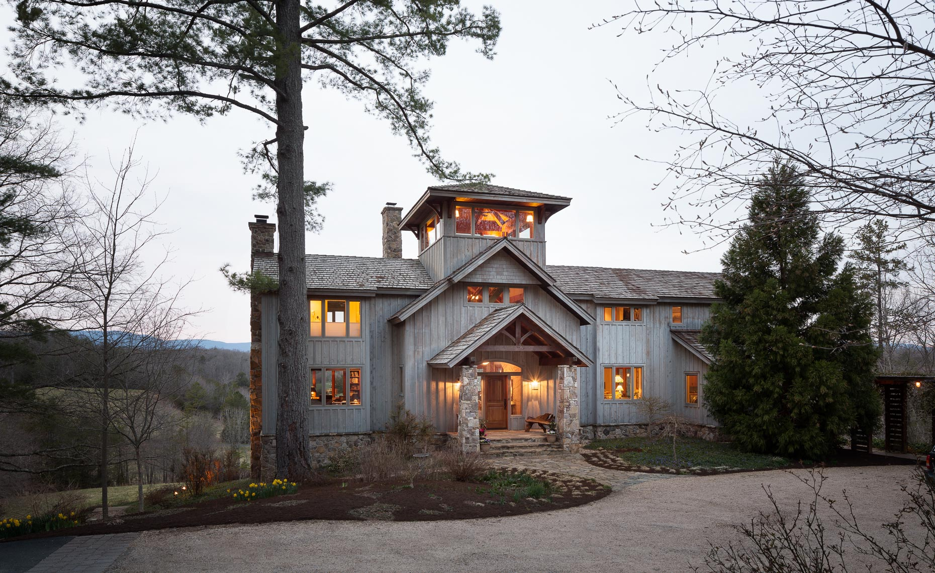 Virginia Hamrick Photography - Timberpeg Home by Smith & Robertson