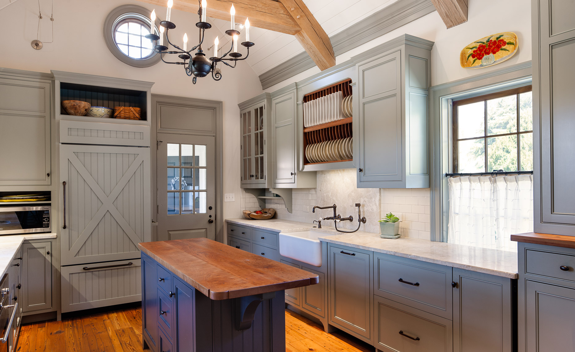Virginia Hamrick Photography - Custom Cabinetry by W A Marks Fine Woodworking  Barboursville, VA